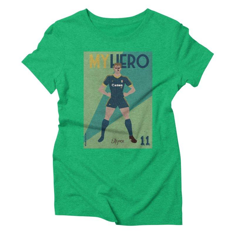 Elkjaer My Hero Vintage Edition Women's Triblend T-Shirt by ZEROSTILE'S ARTIST SHOP