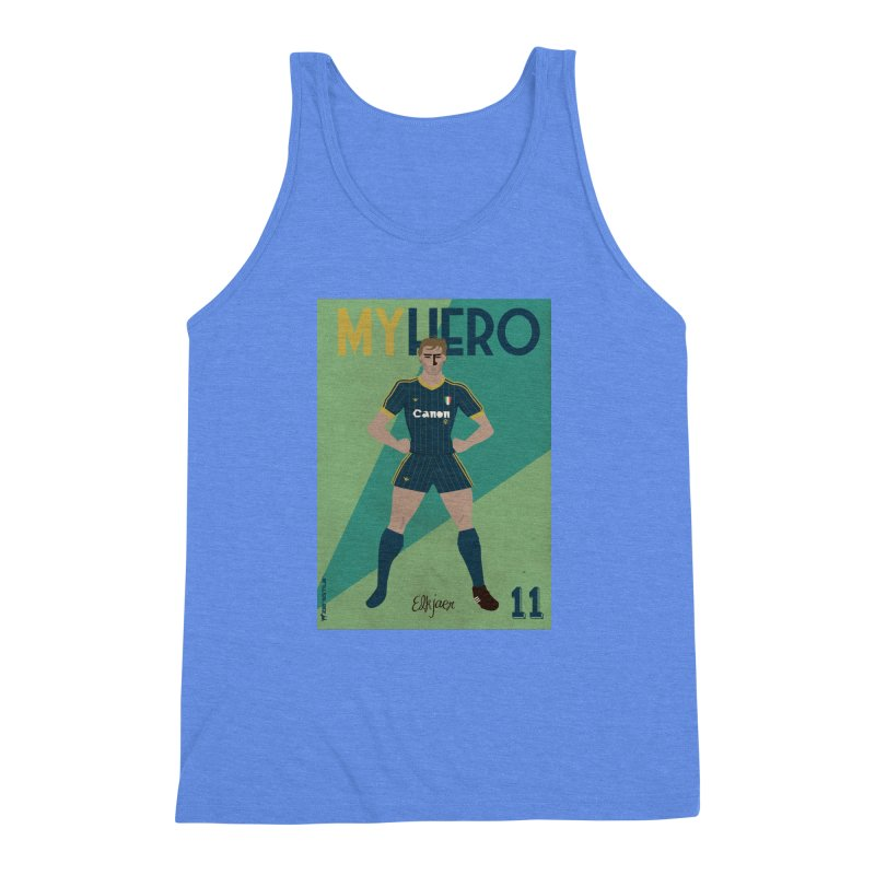 Elkjaer My Hero Vintage Edition Men's Triblend Tank by ZEROSTILE'S ARTIST SHOP