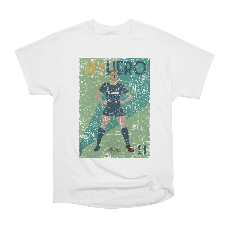 Elkjaer My Hero Grunge Edition Men's Heavyweight T-Shirt by ZEROSTILE'S ARTIST SHOP
