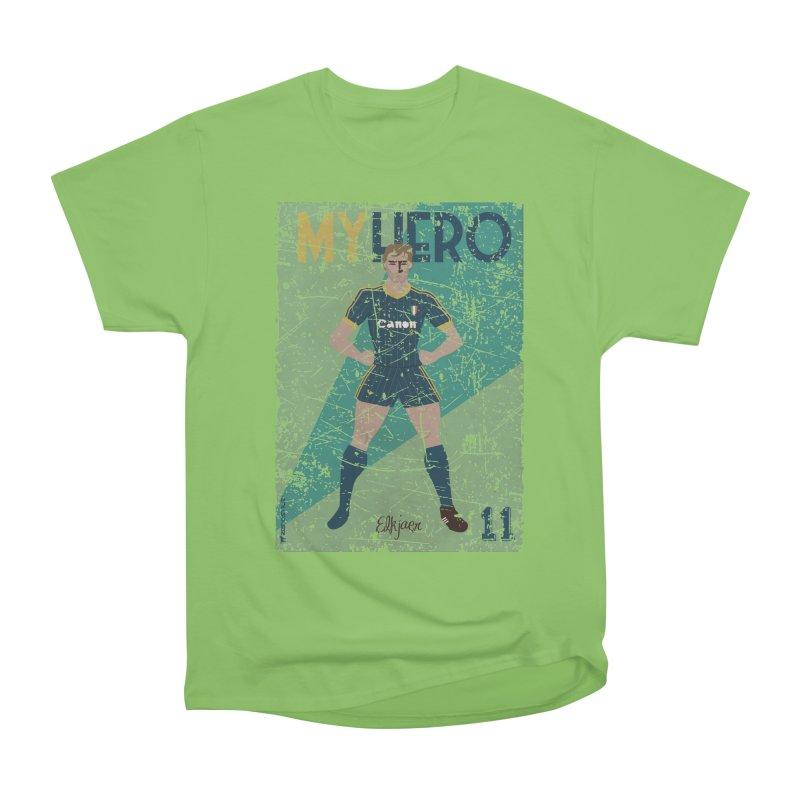Elkjaer My Hero Grunge Edition Women's Heavyweight Unisex T-Shirt by ZEROSTILE'S ARTIST SHOP