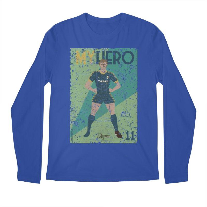 Elkjaer My Hero Grunge Edition Men's Longsleeve T-Shirt by ZEROSTILE'S ARTIST SHOP