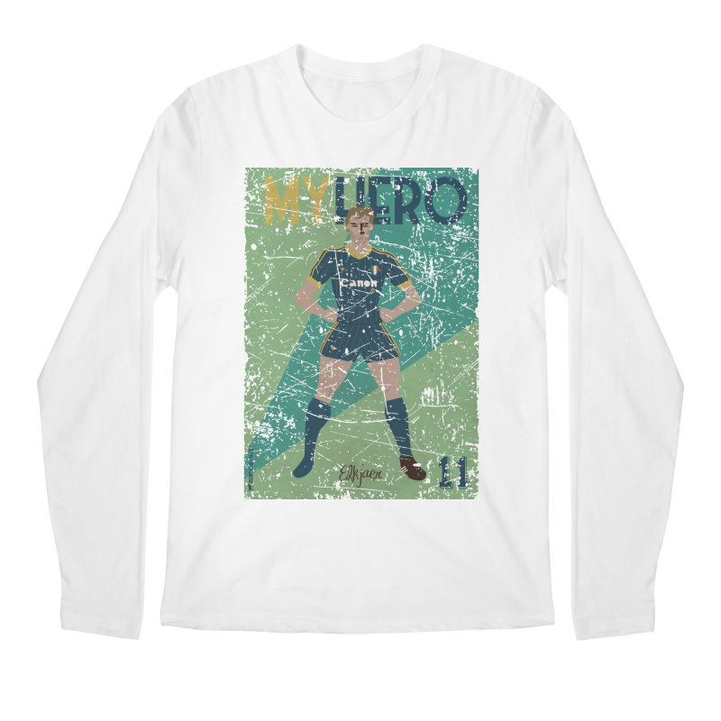Elkjaer My Hero Grunge Edition Men's Longsleeve T-Shirt by ZEROSTILE'S ARTIST SHOP