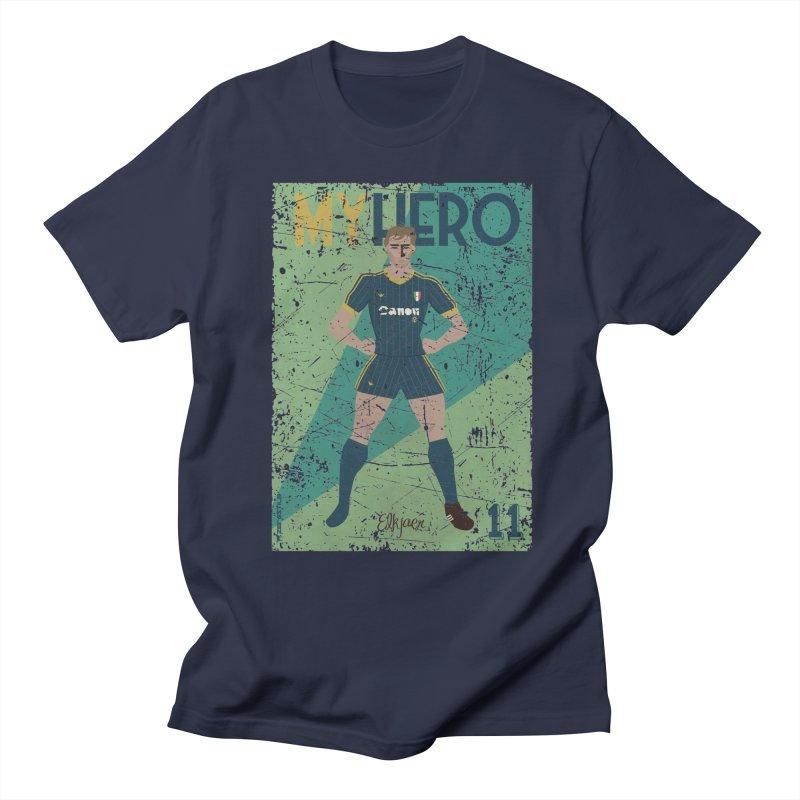 Elkjaer My Hero Grunge Edition Men's T-Shirt by ZEROSTILE'S ARTIST SHOP