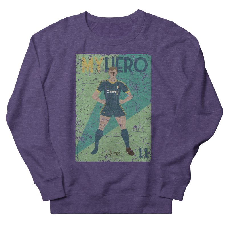 Elkjaer My Hero Grunge Edition Men's Sweatshirt by ZEROSTILE'S ARTIST SHOP