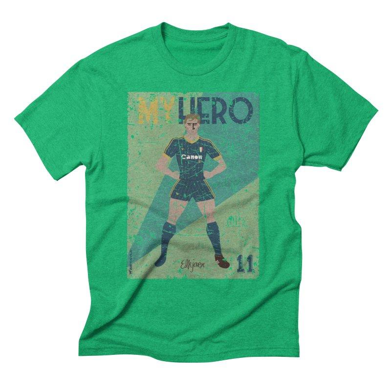 Elkjaer My Hero Grunge Edition Men's Triblend T-Shirt by ZEROSTILE'S ARTIST SHOP