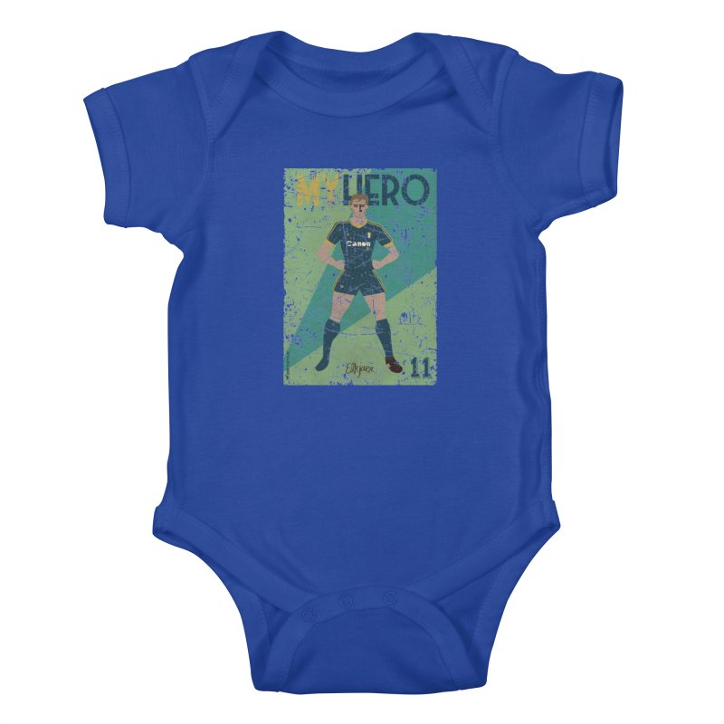 Elkjaer My Hero Grunge Edition Kids Baby Bodysuit by ZEROSTILE'S ARTIST SHOP