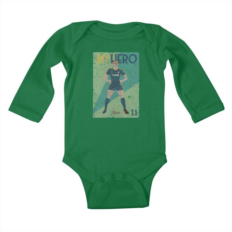 Elkjaer My Hero Grunge Edition Kids Baby Longsleeve Bodysuit by ZEROSTILE'S ARTIST SHOP