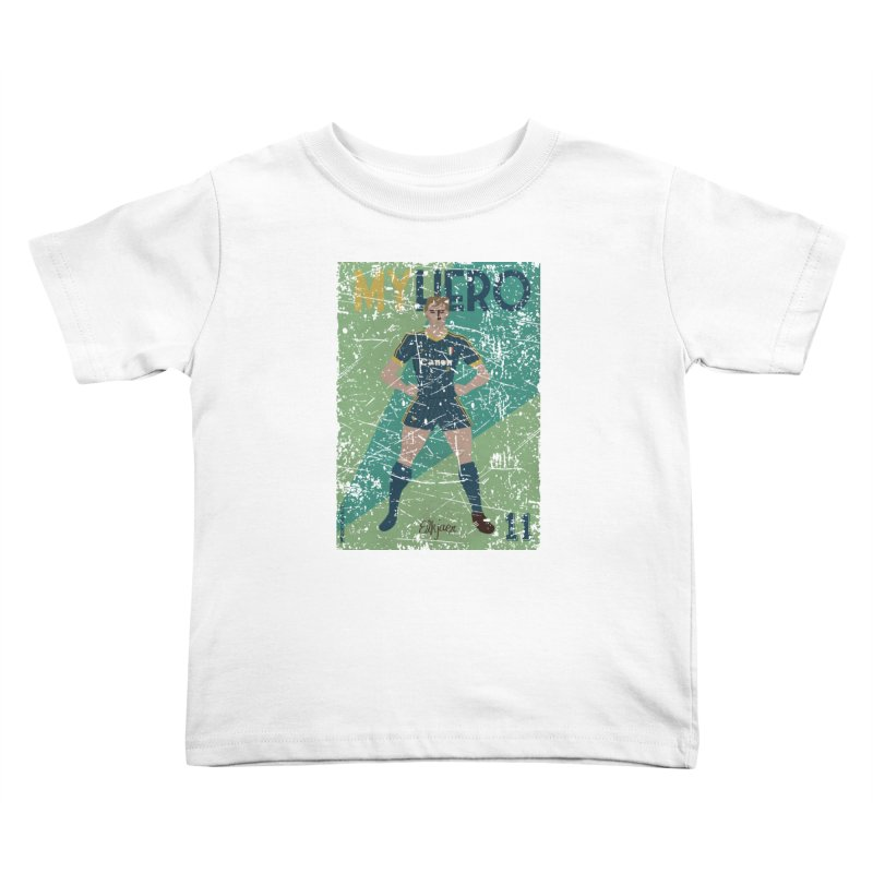 Elkjaer My Hero Grunge Edition Kids Toddler T-Shirt by ZEROSTILE'S ARTIST SHOP