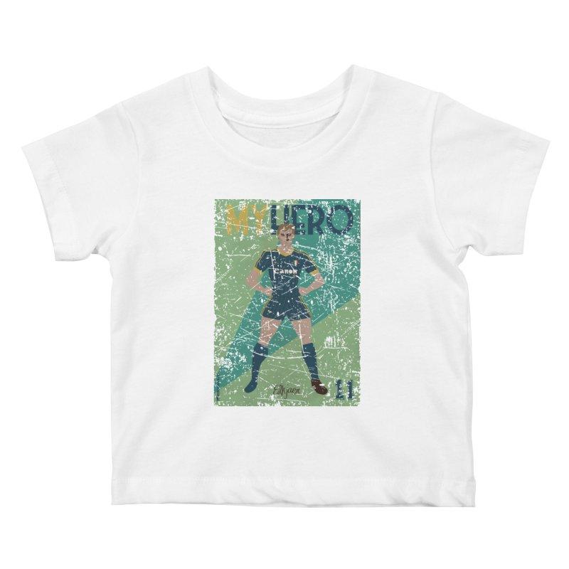 Elkjaer My Hero Grunge Edition Kids Baby T-Shirt by ZEROSTILE'S ARTIST SHOP