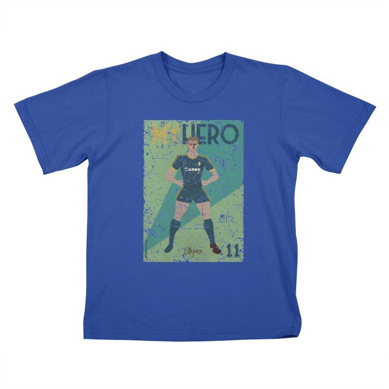 Elkjaer My Hero Grunge Edition Kids T-Shirt by ZEROSTILE'S ARTIST SHOP
