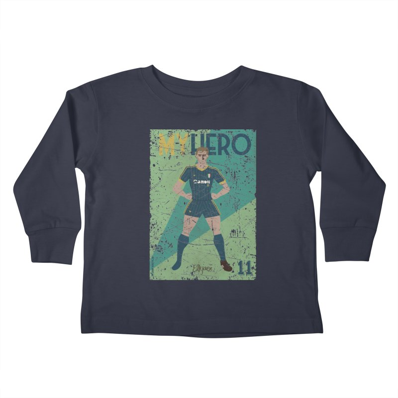 Elkjaer My Hero Grunge Edition Kids Toddler Longsleeve T-Shirt by ZEROSTILE'S ARTIST SHOP