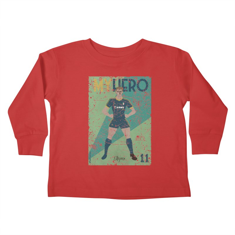 Elkjaer My Hero Grunge Edition Kids Toddler Longsleeve T-Shirt by ZEROSTILE'S ARTIST SHOP