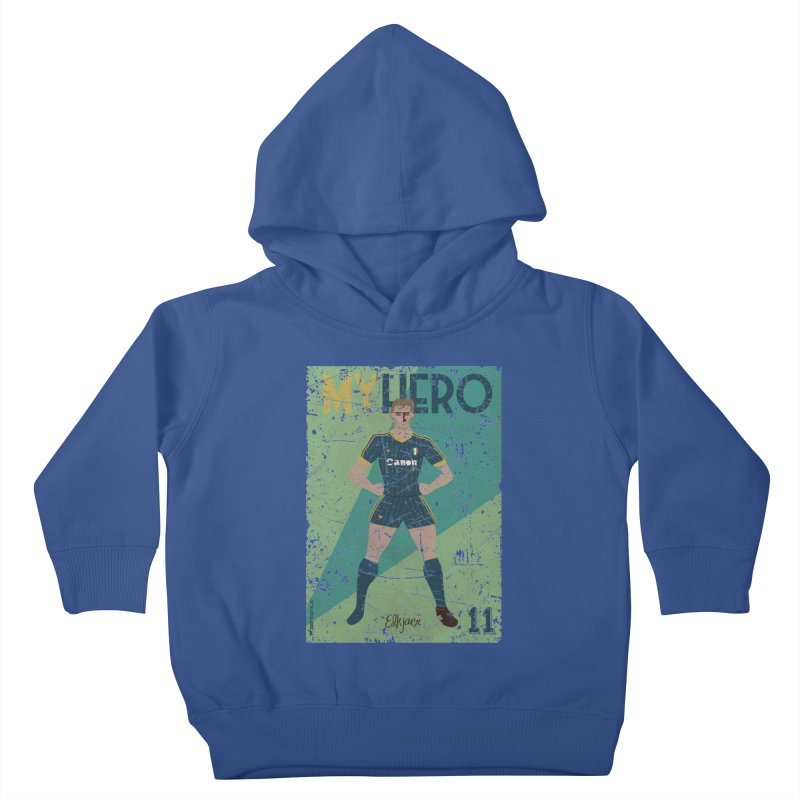 Elkjaer My Hero Grunge Edition Kids Toddler Pullover Hoody by ZEROSTILE'S ARTIST SHOP