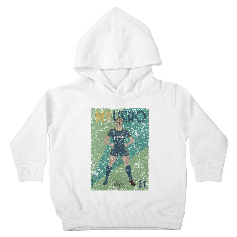 Elkjaer My Hero Grunge Edition Kids Toddler Pullover Hoody by ZEROSTILE'S ARTIST SHOP
