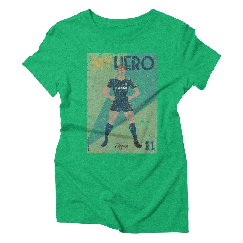 Elkjaer My Hero Grunge Edition Women's Triblend T-shirt by ZEROSTILE'S ARTIST SHOP