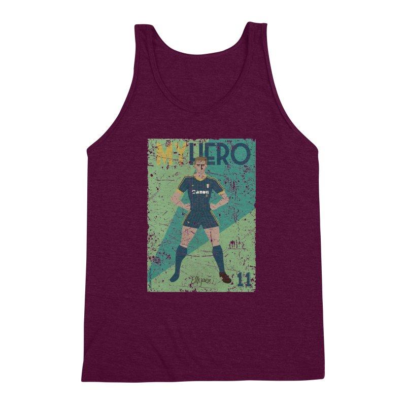 Elkjaer My Hero Grunge Edition Men's Triblend Tank by ZEROSTILE'S ARTIST SHOP