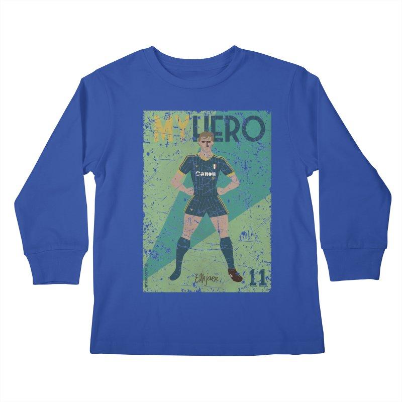 Elkjaer My Hero Grunge Edition Kids Longsleeve T-Shirt by ZEROSTILE'S ARTIST SHOP