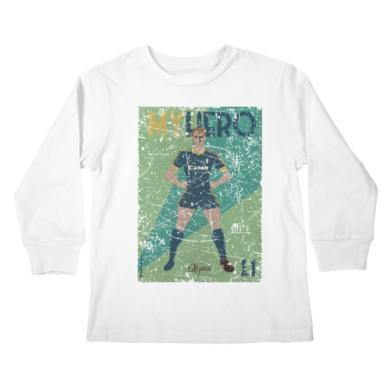 Elkjaer My Hero Grunge Edition Kids Longsleeve T-Shirt by ZEROSTILE'S ARTIST SHOP