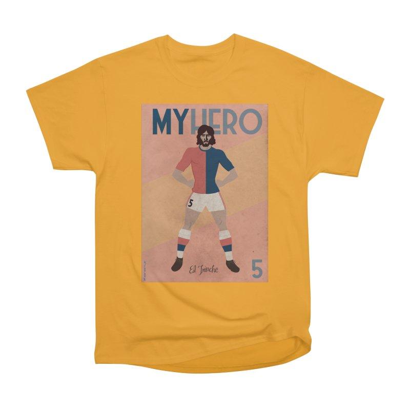 Carlovich EL TRINCHE My hero Vintage Edition Men's Heavyweight T-Shirt by ZEROSTILE'S ARTIST SHOP