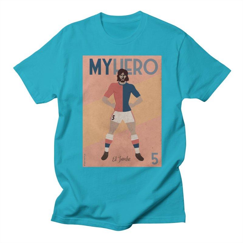 Carlovich EL TRINCHE My hero Vintage Edition Men's T-shirt by ZEROSTILE'S ARTIST SHOP