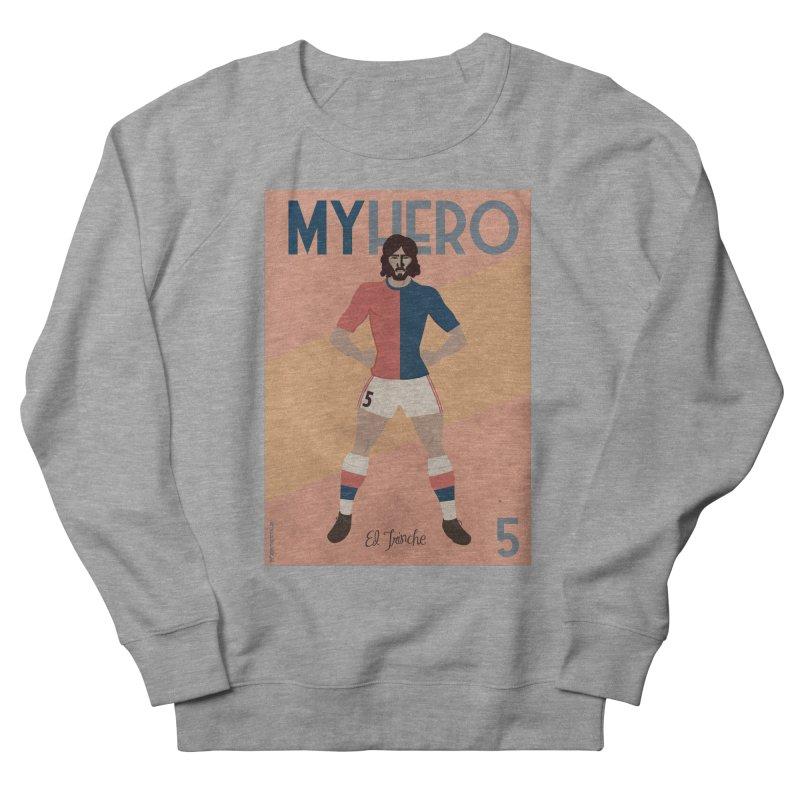 Carlovich EL TRINCHE My hero Vintage Edition Women's Sweatshirt by ZEROSTILE'S ARTIST SHOP