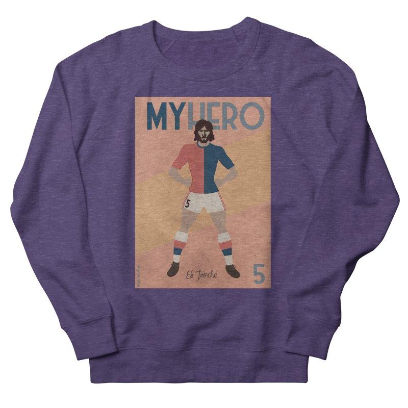 Carlovich EL TRINCHE My hero Vintage Edition Men's Sweatshirt by ZEROSTILE'S ARTIST SHOP