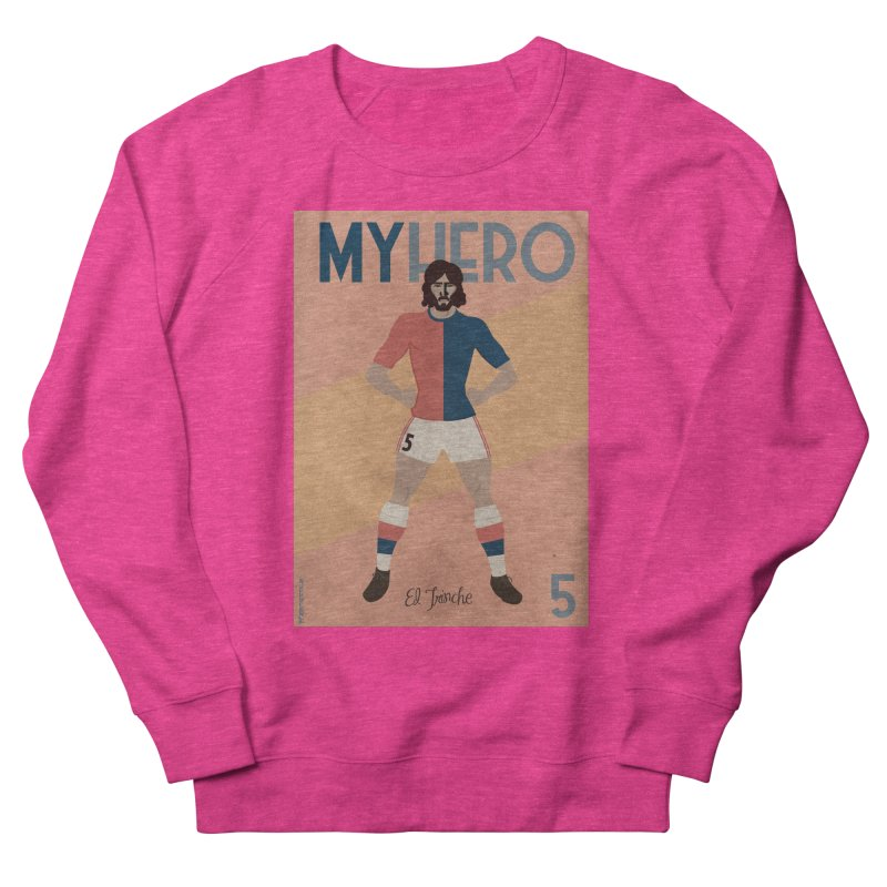 Carlovich EL TRINCHE My hero Vintage Edition Men's Sweatshirt by ZEROSTILE'S ARTIST SHOP