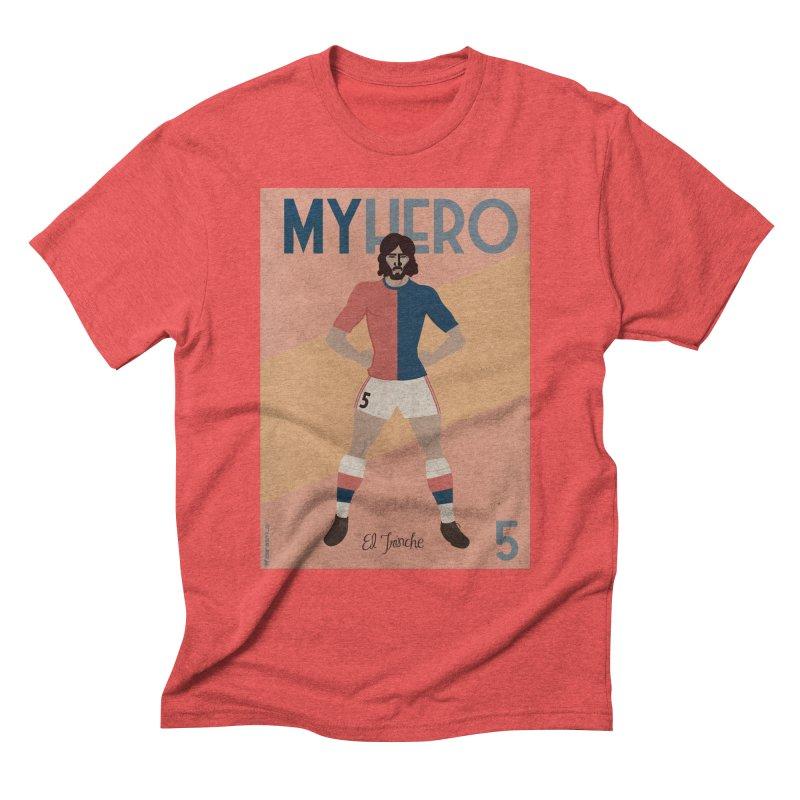 Carlovich EL TRINCHE My hero Vintage Edition Men's Triblend T-Shirt by ZEROSTILE'S ARTIST SHOP