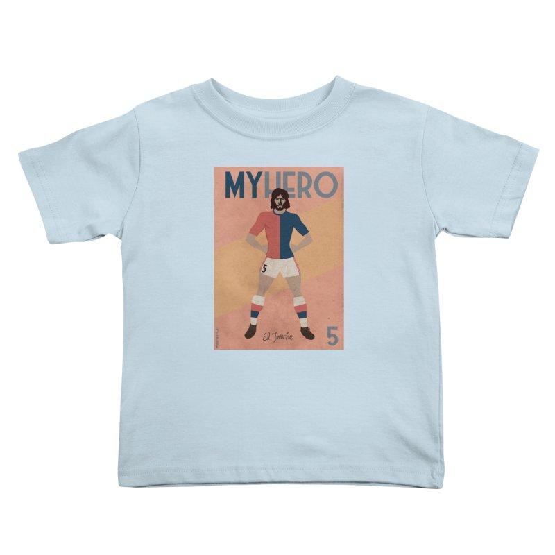 Carlovich EL TRINCHE My hero Vintage Edition Kids Toddler T-Shirt by ZEROSTILE'S ARTIST SHOP