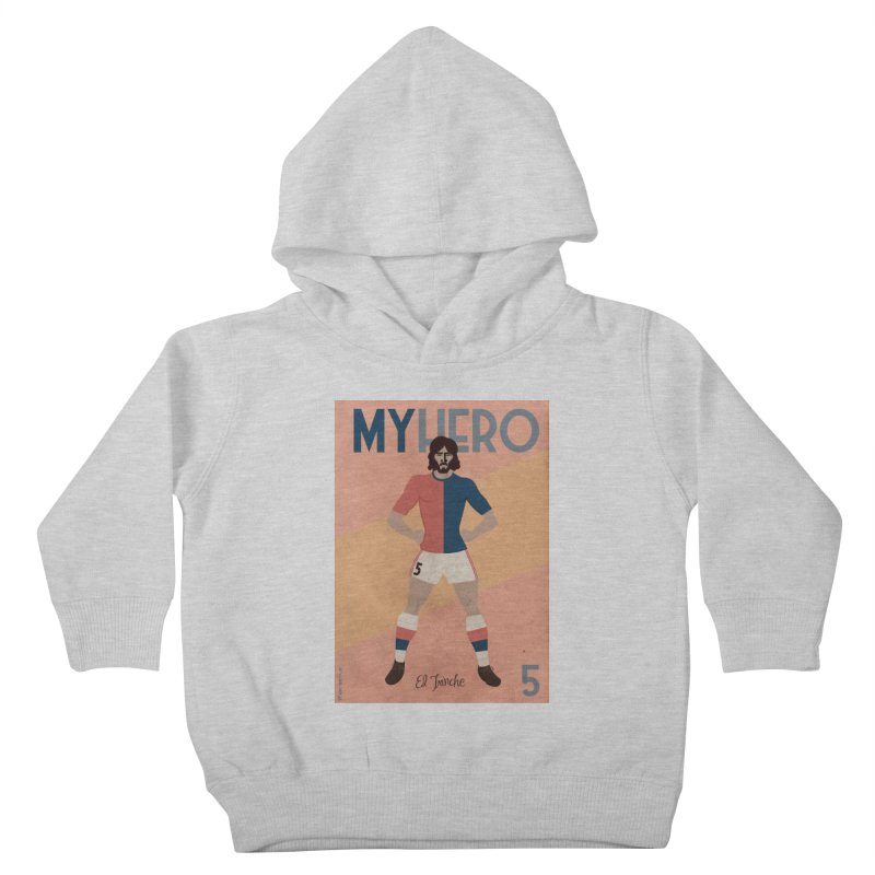 Carlovich EL TRINCHE My hero Vintage Edition Kids Toddler Pullover Hoody by ZEROSTILE'S ARTIST SHOP
