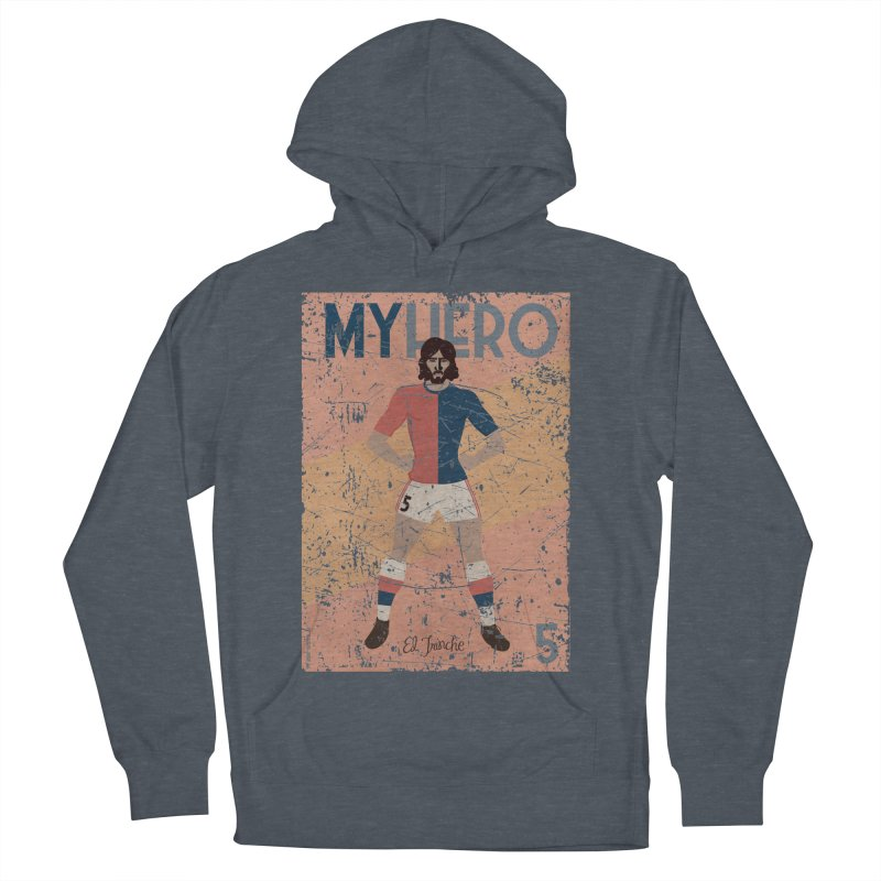 Carlovich El TRINCHE My Hero Grunge Edition Men's Pullover Hoody by ZEROSTILE'S ARTIST SHOP