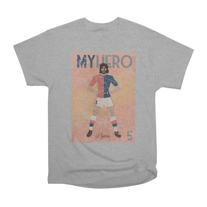 Carlovich El TRINCHE My Hero Grunge Edition Women's Heavyweight Unisex T-Shirt by ZEROSTILE'S ARTIST SHOP
