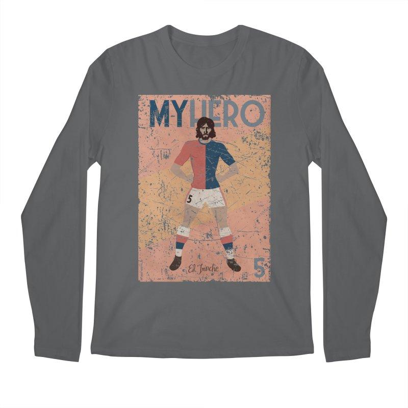 Carlovich El TRINCHE My Hero Grunge Edition Men's Longsleeve T-Shirt by ZEROSTILE'S ARTIST SHOP