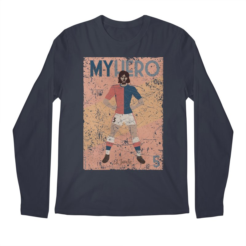 Carlovich El TRINCHE My Hero Grunge Edition Men's Longsleeve T-Shirt by ZEROSTILE'S ARTIST SHOP