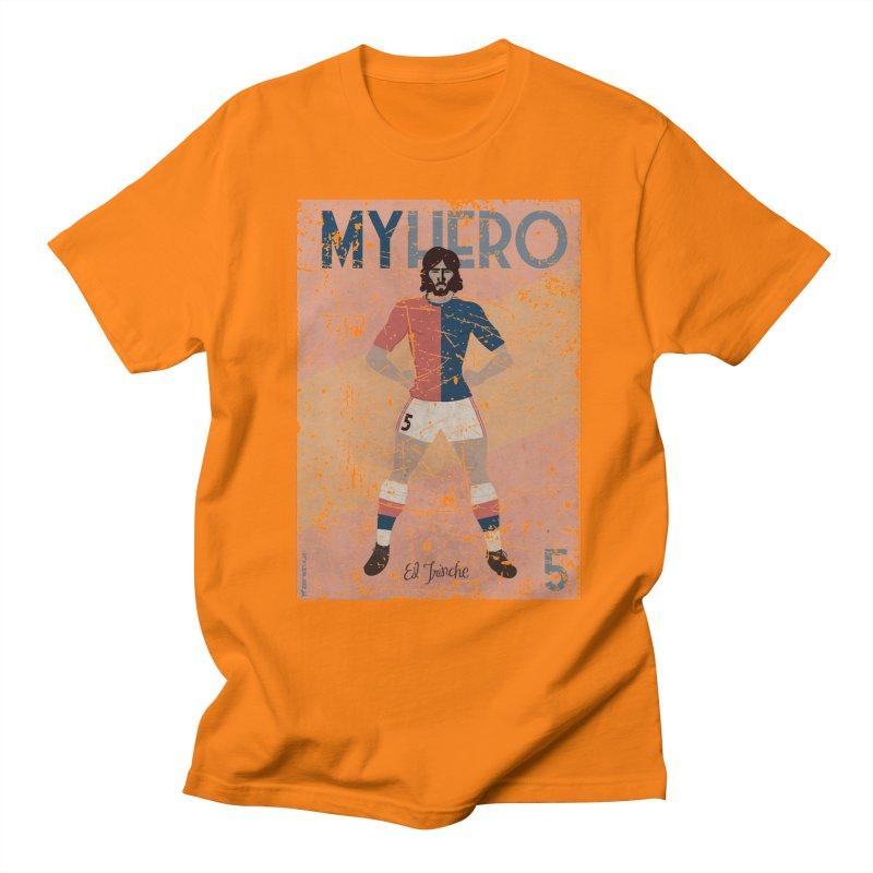 Carlovich El TRINCHE My Hero Grunge Edition Men's T-Shirt by ZEROSTILE'S ARTIST SHOP