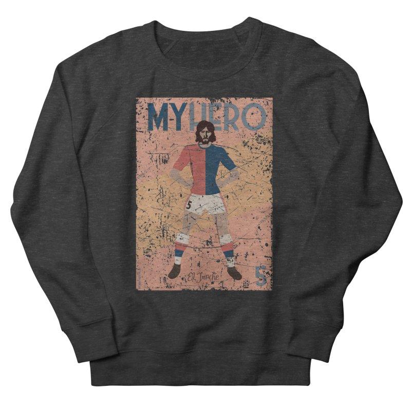 Carlovich El TRINCHE My Hero Grunge Edition Men's Sweatshirt by ZEROSTILE'S ARTIST SHOP