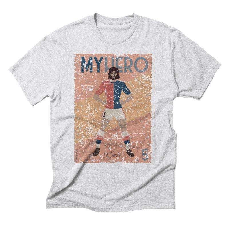 Carlovich El TRINCHE My Hero Grunge Edition Men's Triblend T-Shirt by ZEROSTILE'S ARTIST SHOP