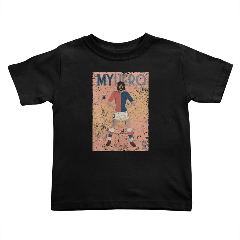 Carlovich El TRINCHE My Hero Grunge Edition Kids Toddler T-Shirt by ZEROSTILE'S ARTIST SHOP