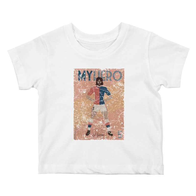 Carlovich El TRINCHE My Hero Grunge Edition Kids Baby T-Shirt by ZEROSTILE'S ARTIST SHOP