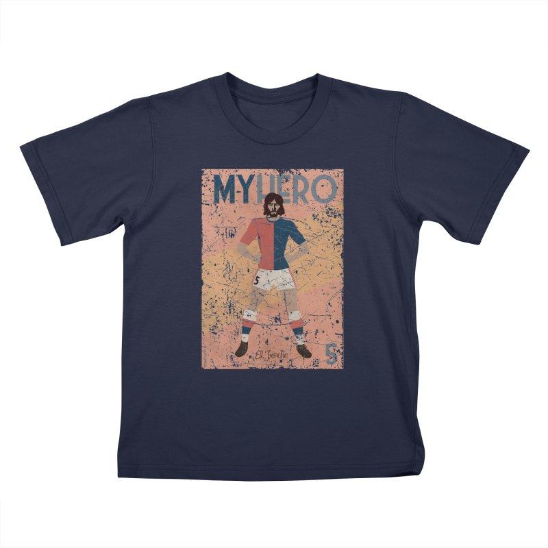 Carlovich El TRINCHE My Hero Grunge Edition Kids T-shirt by ZEROSTILE'S ARTIST SHOP