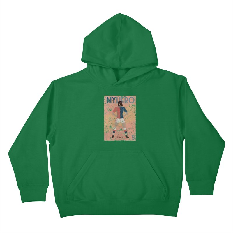 Carlovich El TRINCHE My Hero Grunge Edition Kids Pullover Hoody by ZEROSTILE'S ARTIST SHOP