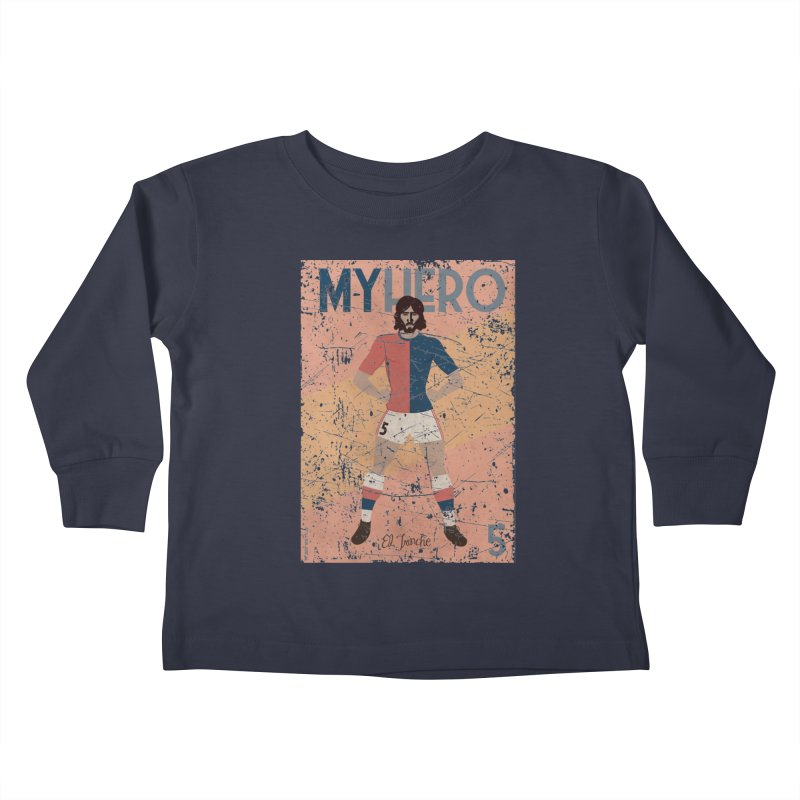 Carlovich El TRINCHE My Hero Grunge Edition Kids Toddler Longsleeve T-Shirt by ZEROSTILE'S ARTIST SHOP