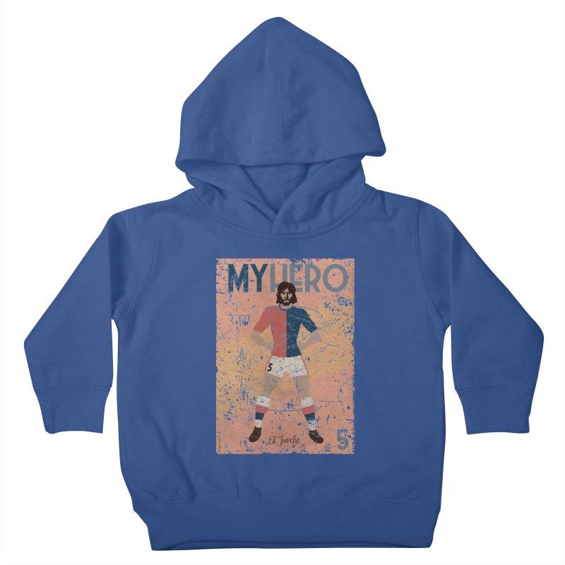 Carlovich El TRINCHE My Hero Grunge Edition Kids Toddler Pullover Hoody by ZEROSTILE'S ARTIST SHOP