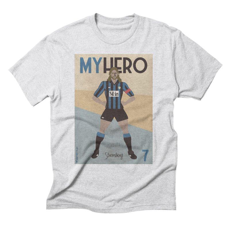 Stromberg My hero Vintage Edition Men's Triblend T-Shirt by ZEROSTILE'S ARTIST SHOP