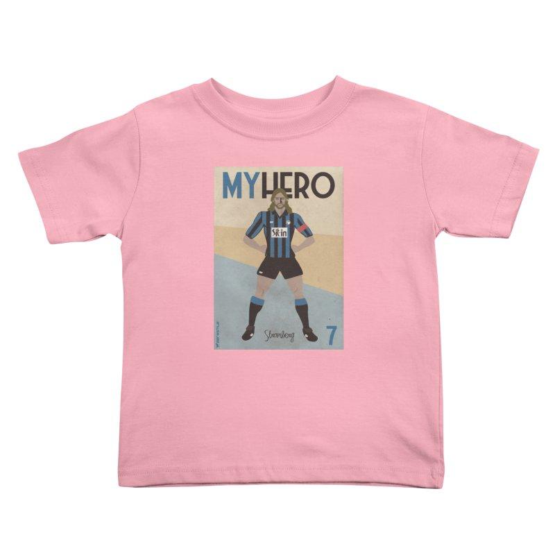 Stromberg My hero Vintage Edition Kids Toddler T-Shirt by ZEROSTILE'S ARTIST SHOP