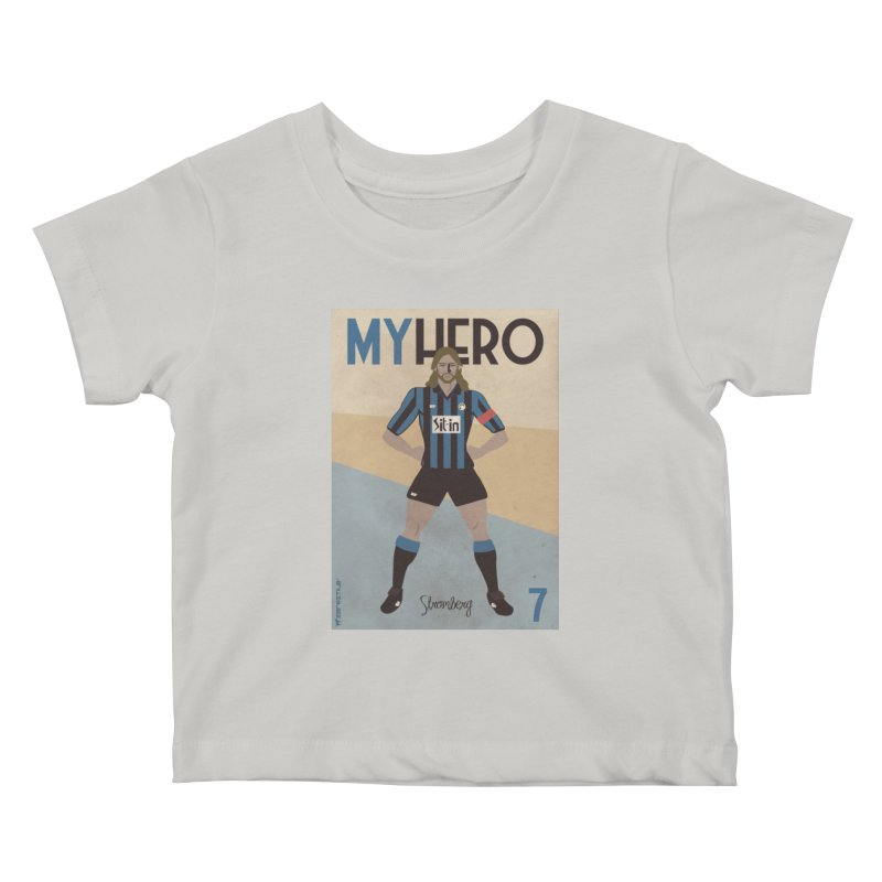 Stromberg My hero Vintage Edition Kids Baby T-Shirt by ZEROSTILE'S ARTIST SHOP