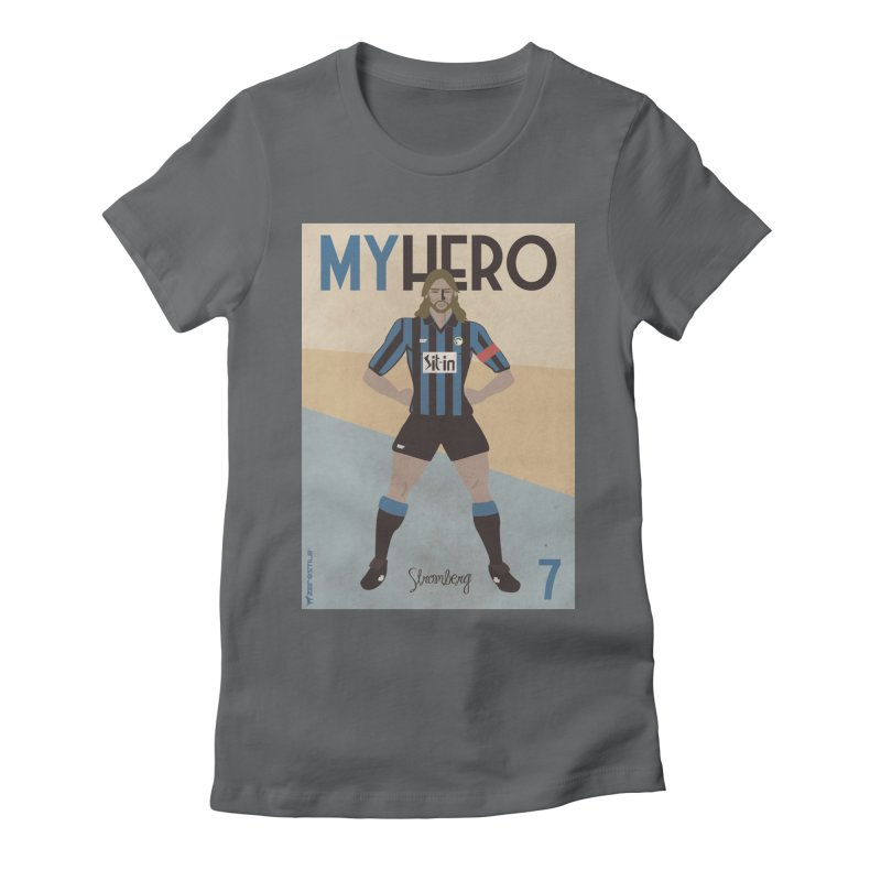 Stromberg My hero Vintage Edition Women's Fitted T-Shirt by ZEROSTILE'S ARTIST SHOP
