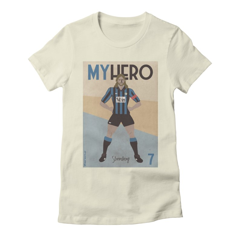 Stromberg My hero Vintage Edition Women's Fitted T-Shirt by ZEROSTILE'S ARTIST SHOP