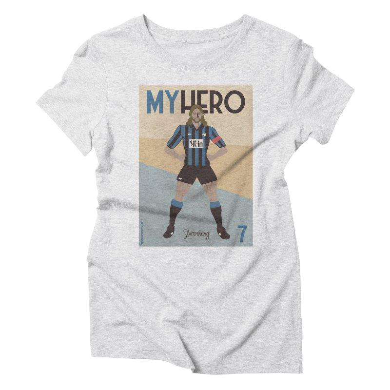 Stromberg My hero Vintage Edition Women's Triblend T-Shirt by ZEROSTILE'S ARTIST SHOP