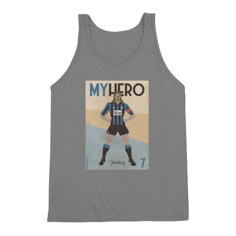Stromberg My hero Vintage Edition Men's Triblend Tank by ZEROSTILE'S ARTIST SHOP